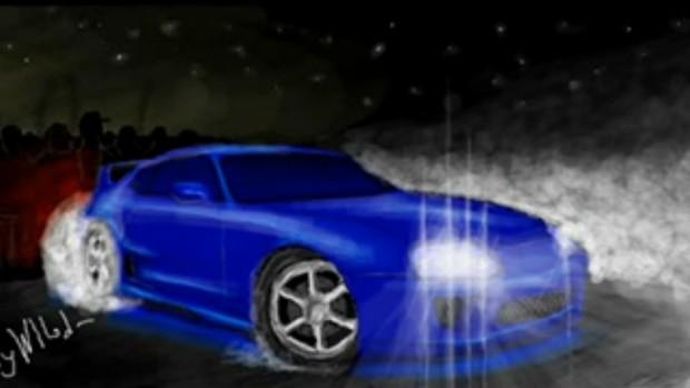Как нарисовать машину В Контакте